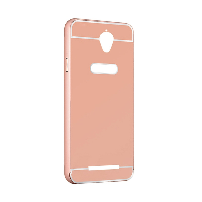 "FORCELL Ochranný zrcadlový obal Asus ZenFone Go 4,5 ""(ZC550TG) růžový"