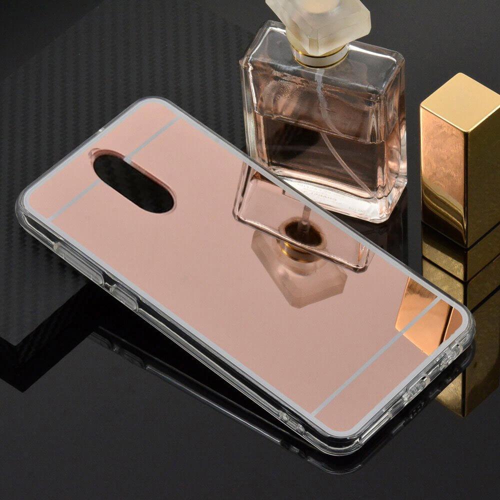 FORCELL Zrcadlový silikonový obal Huawei Mate 10 Lite růžový